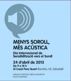 Menys Soroll, Més Acústica