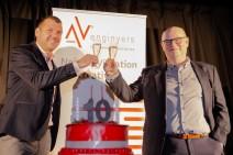 AV Ingenieros celebra una década de buenas vibraciones
