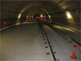 Instrumentación utilizada para la caracterización dinámica de la losa intermedia del túnel de la L9
